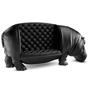 New Hippopotamus Chair By Maximo Riera Is The Size Of A Real Hippo