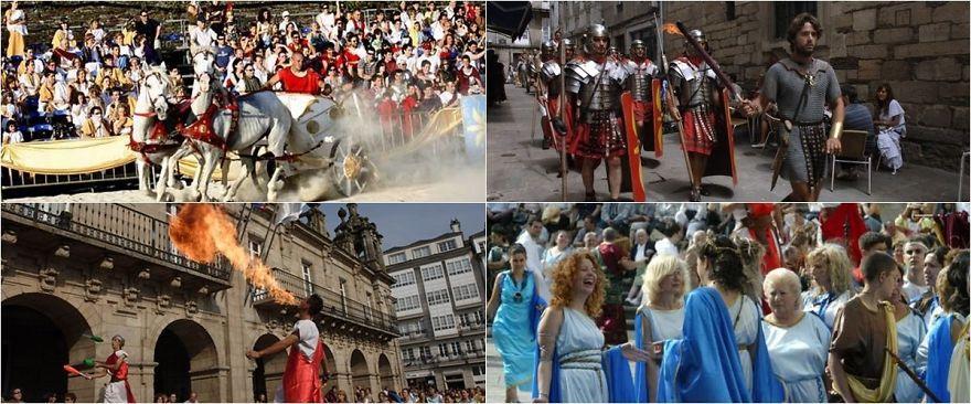 Roman Arde Lucus Festival (Spain)