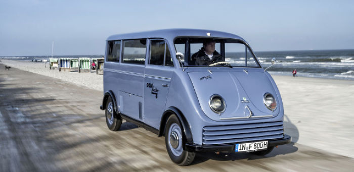 Audi Tradition: 1956 Dkw Electro Wagen