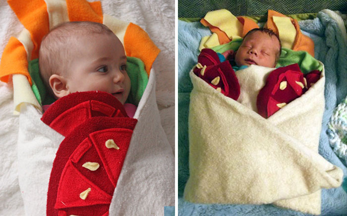 This Burrito Baby Blanket Will Turn Your Infant Into A Baby-rito