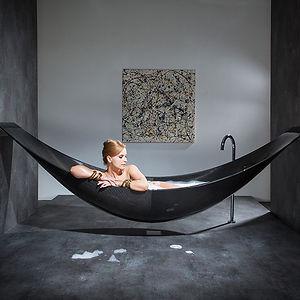 Hammock-like Bathtub