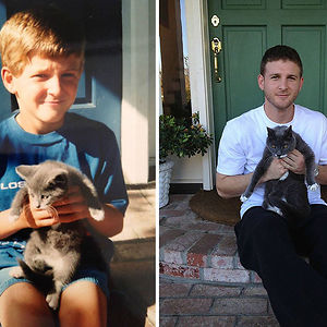 Just Me And My Cat... 17 Years Later
