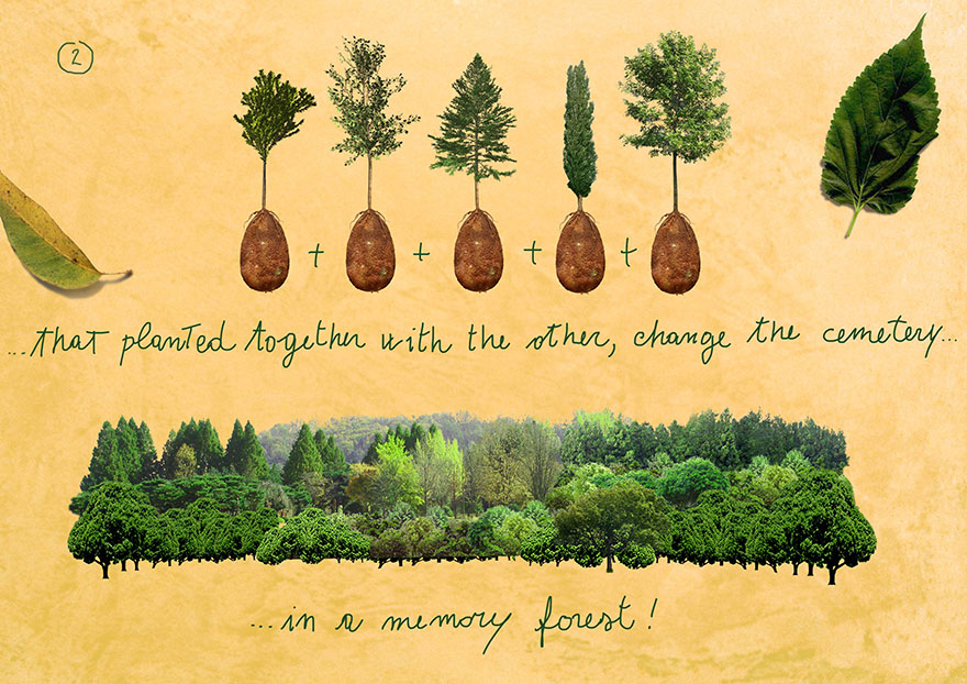 Forget Coffins - Organic Burial Pods Will Turn Your Loved Ones Into Trees