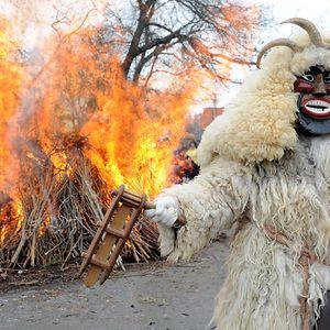 Mohácsi Busójárás - Winter Scareaway Festival (Hungary)