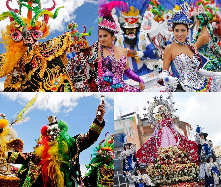 La Fiesta De La Candelaria - Puno, Peru