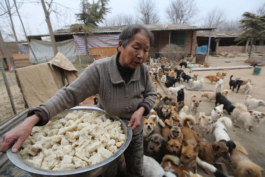 Elderly Chinese Women Wake Up At 4am