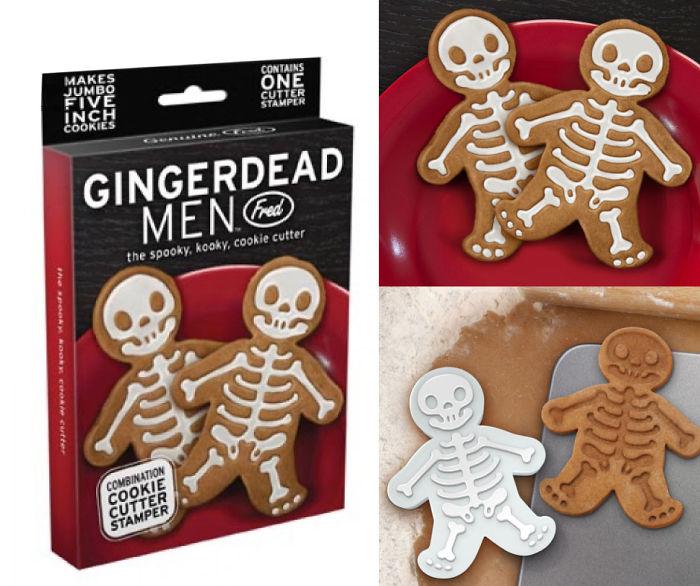 Gingerdead Men – The Spooky Kooky Cookie Cutter!