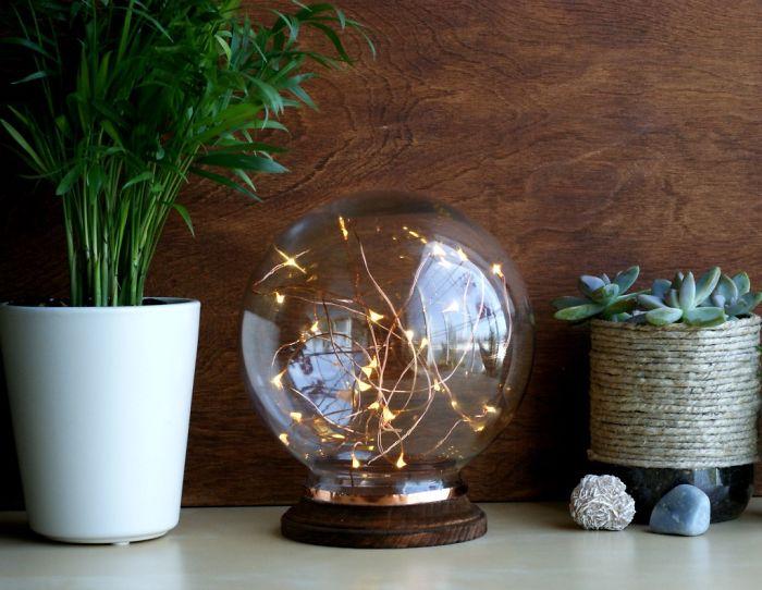Diy Mid Century Modern Illuminated Globe