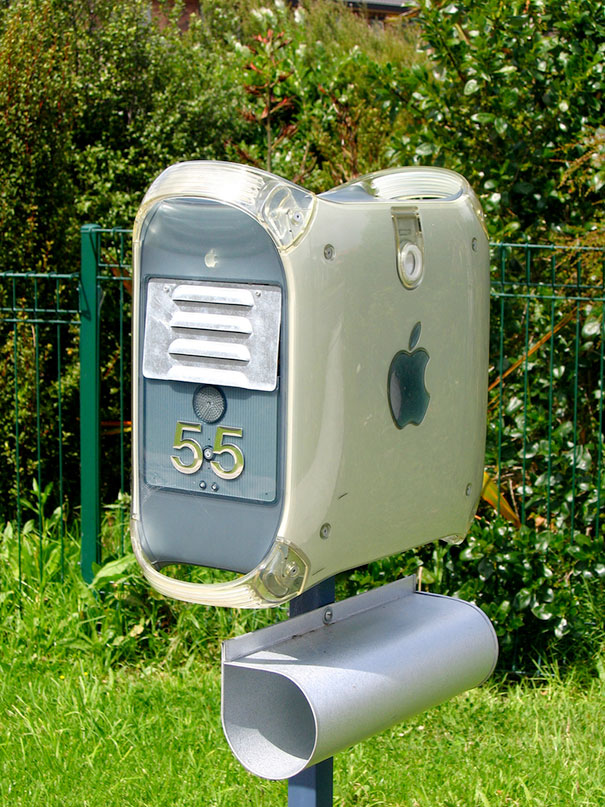 Mac Pc Turned Into A Mailbox