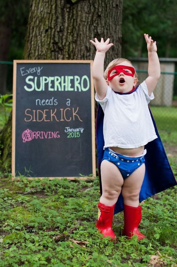 115 Of The Most Creative Baby Announcements Ever | Bored Panda