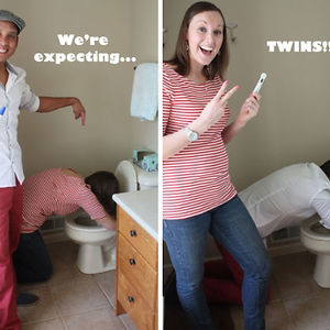 Creative Pregnancy Announcement