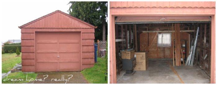 Artist Turns Old Garage Into Mini Dream Home