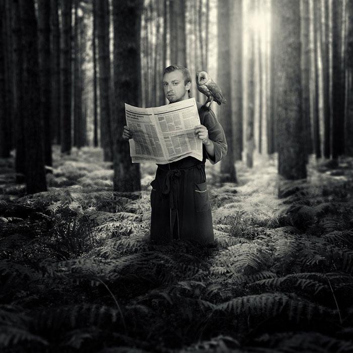 Dreams: Surreal Photography By Polish Artist Michał Giedrojć