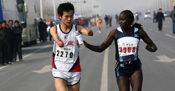 Jacqueline Kiplimo Helps A Disabled Runner Finish A Marathon In Taiwan, Costing Her A First Place Finish