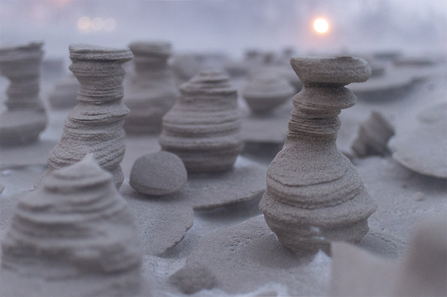 frozen-sand-tower-wind-lake-michigan-joshua-nowicki-5