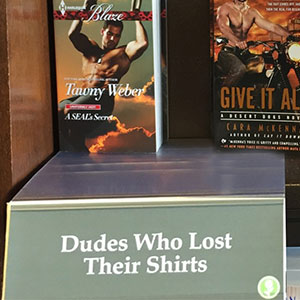 This Guy Created His Own Hilarious Book Sections At A Local Bookstore