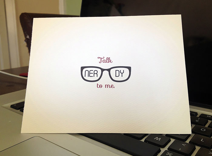 25 Nerdy Valentines Day Cards For Nerds Who Arent Afraid To – What to Right on a Valentine Day Card