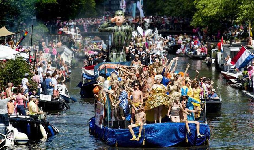 Amsterdam Canal Gaypride (Netherlands)