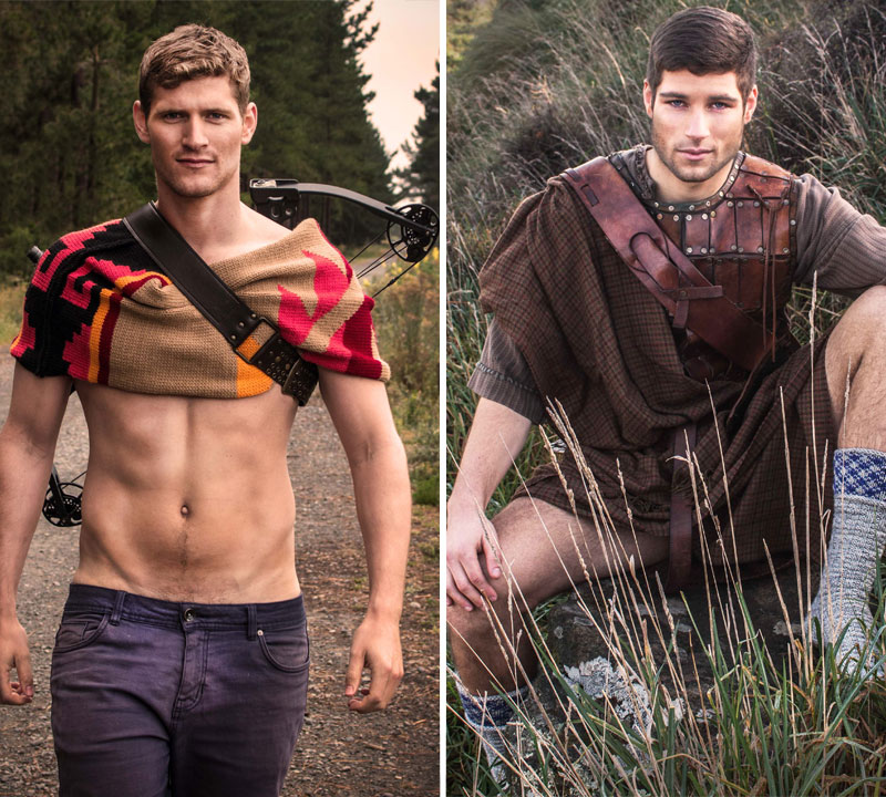 Local Guys Become International Pin Up Models In Sexy Knitwear Calendar