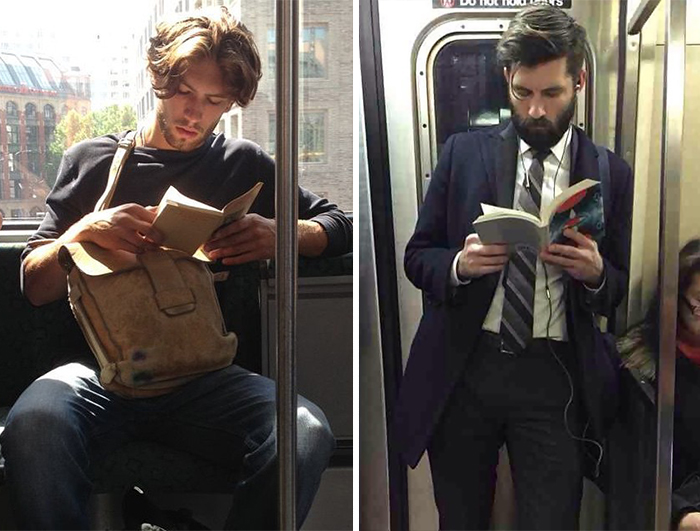 'Hot Dudes Reading' Books On Trains Is The Hottest Instagram Right Now