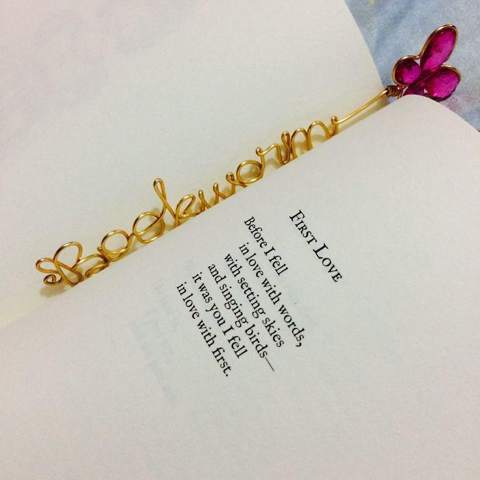 Wire Bookmark!
