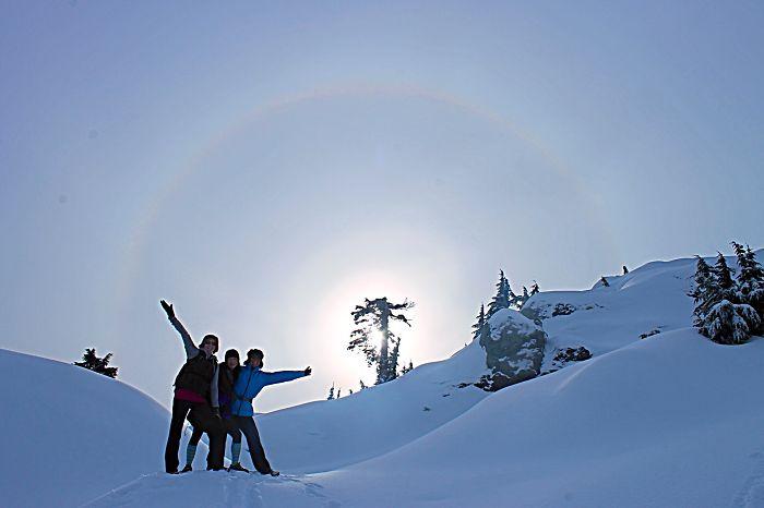Sun Dog, Mt. Seymour, British Columbia