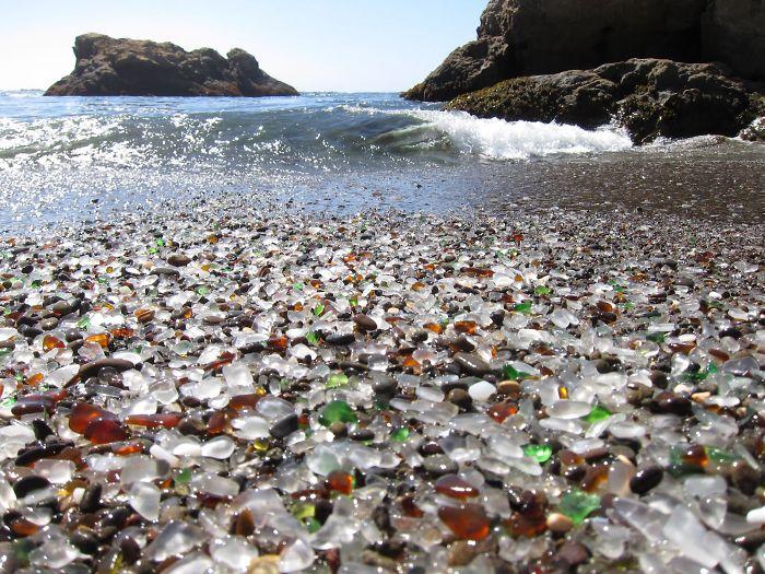 Glass Beach, Mackerricher State Park, Fort Bragg, California