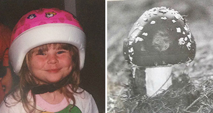 Parents Add Mushroom Pictures To Family Album To Convince Kids It Was Their Third Brother Who Didn't Take Baths