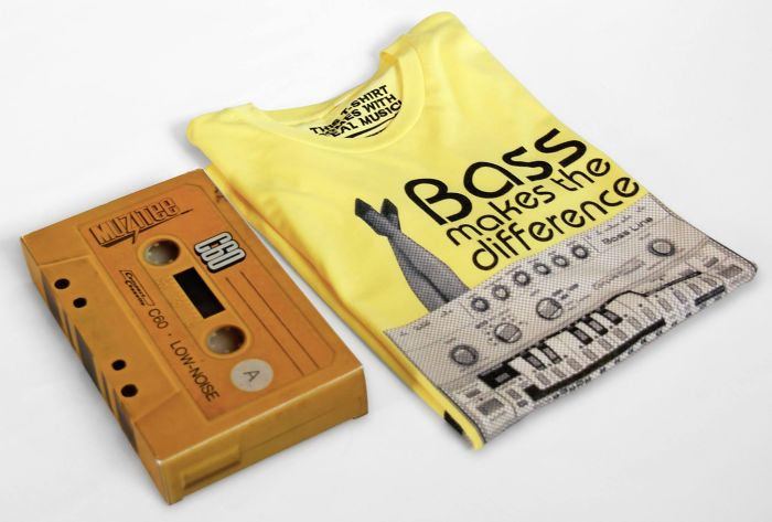 Cassette Packaging For Music T-shirts