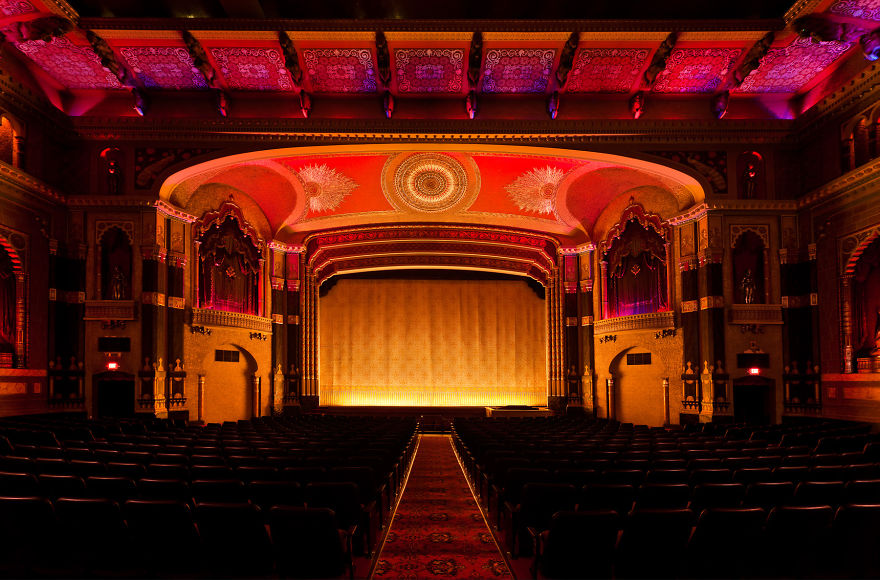 Oriental Theater Milwaukee, Wi, Usa