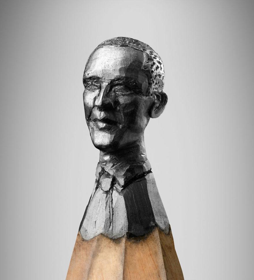 A Miniature Bust Of Barack Obama
