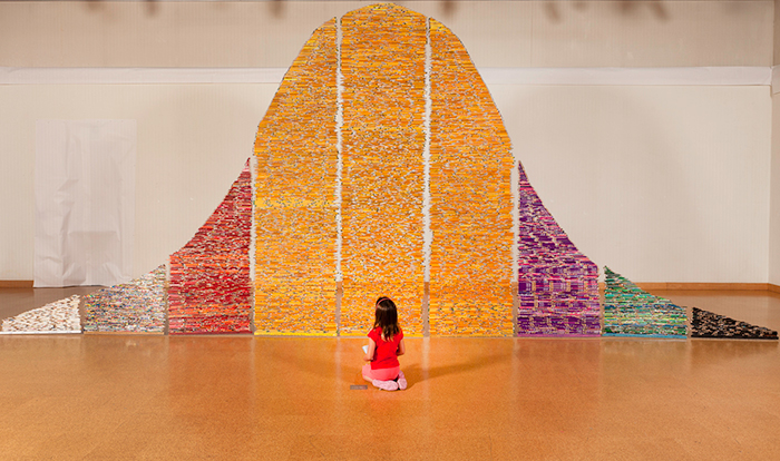 I Received Thousands of Pencils From Around The World And Spent 5 Years Building This Installation