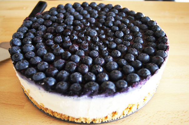 Perfectly Topped Cheesecake