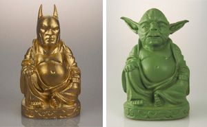 These Superhero-Buddhas Let You Worship Your Beloved Superheroes and Supervillains
