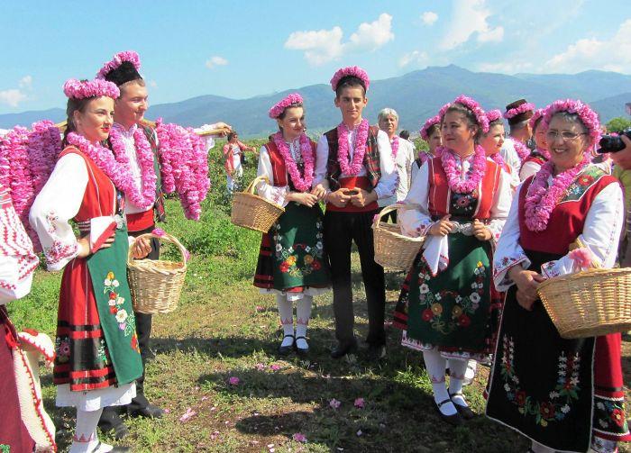 Regional Rose Festival In Karlovo (bulgaria)