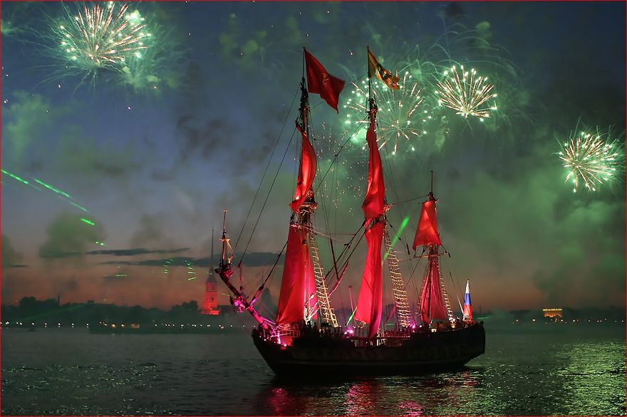 White Nights Festival/Scarlet Sails (Russia)
