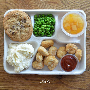 How Do School Lunches Around The World Look?