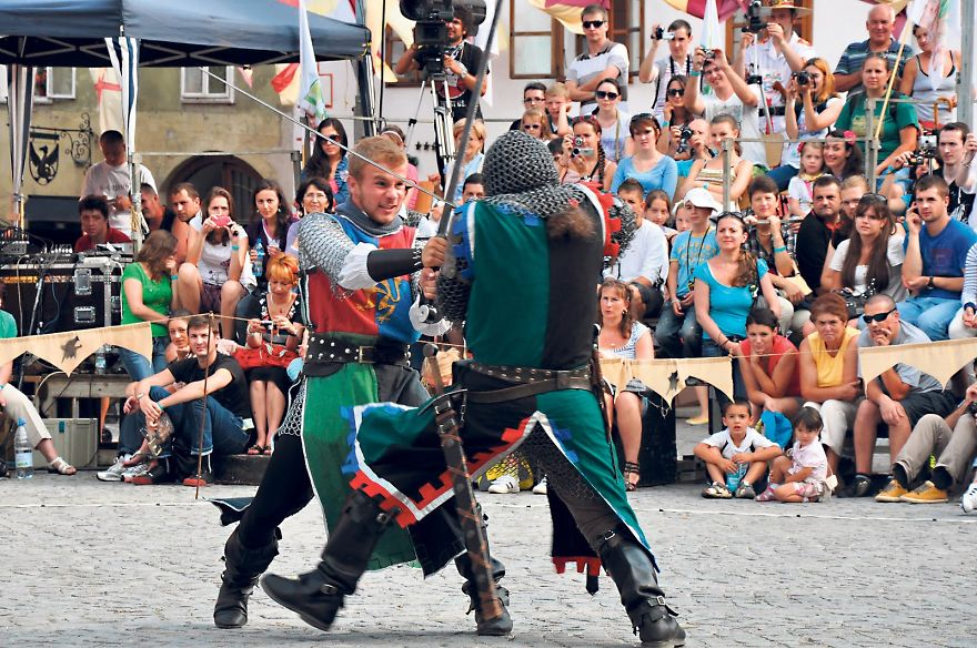 The Medieval Festival - Sighisoara, Romania
