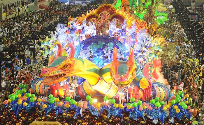 Carnaval In Rio, Brazil