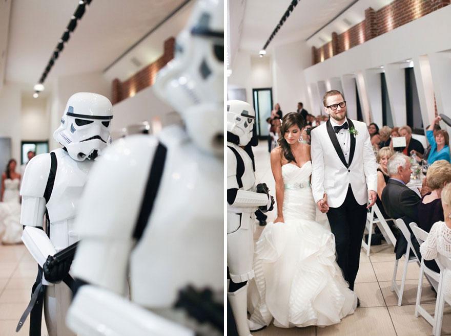 Star Wars Theme Wedding Jennifer Joshua 21