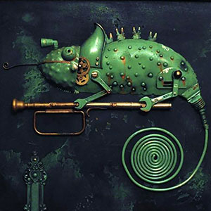 Lithuanian Artist Creates Steampunk Assemblages From Various Metal Parts