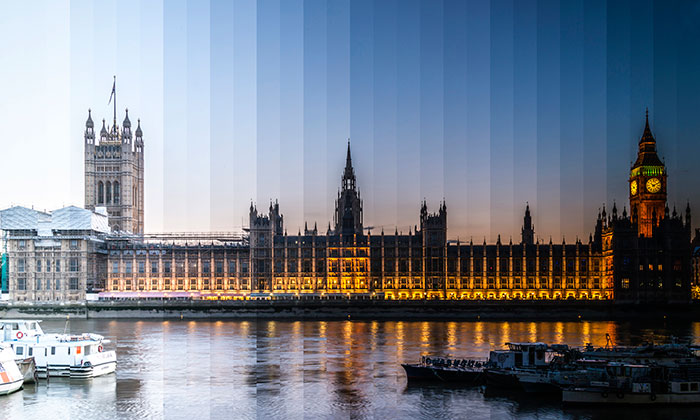 Time Sliced: I Photograph Iconic Buildings From Day To Night And Combine Them In One Picture