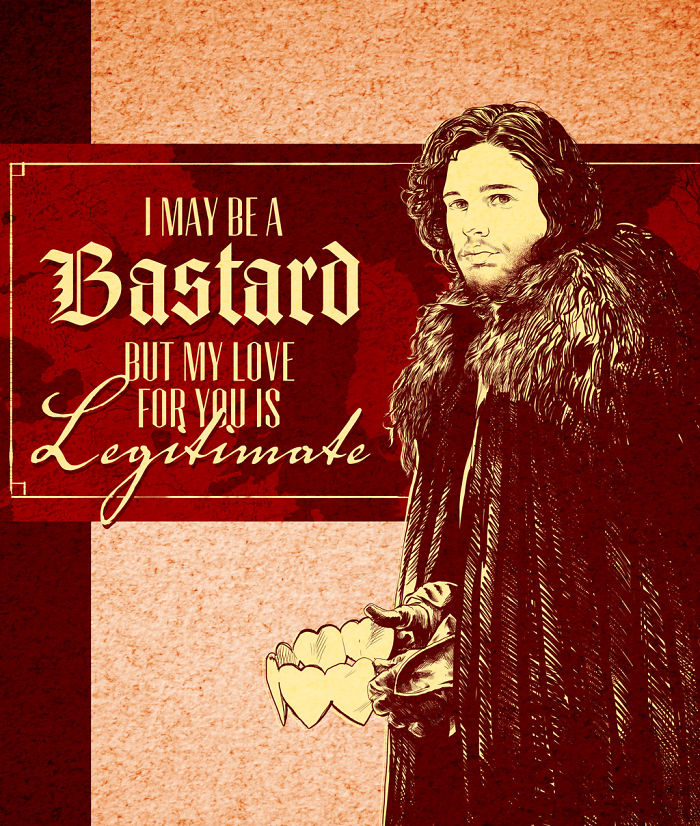 Game Of Thrones Valentine's Day Card