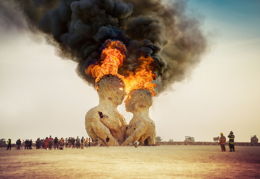 Burning Man Festival, Nevada (EE.UU.)