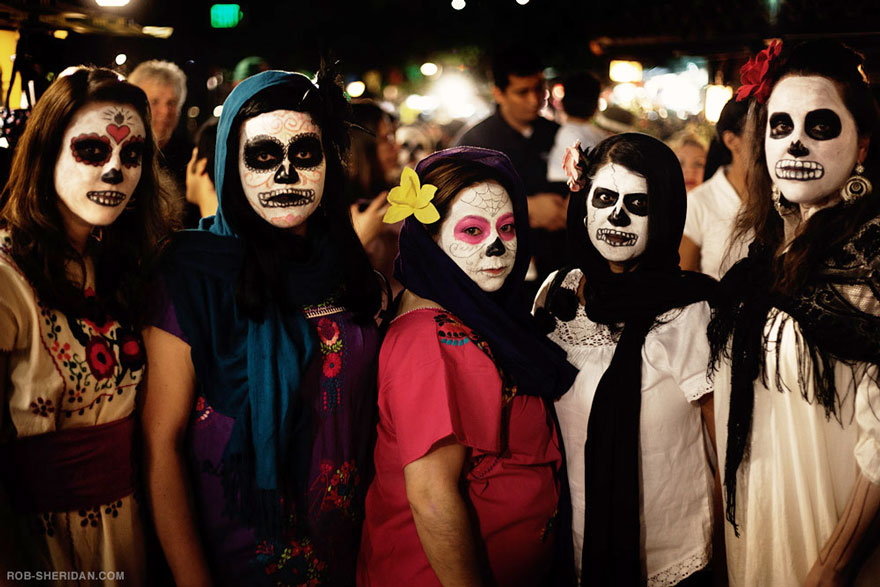 Dia De Los Muertos Festival (se originó en México)