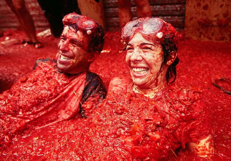 Festival Tomatina La (España)