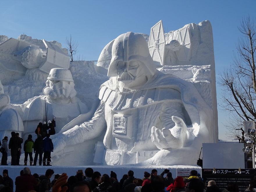 Festival de la Nieve de Sapporo (Japón)