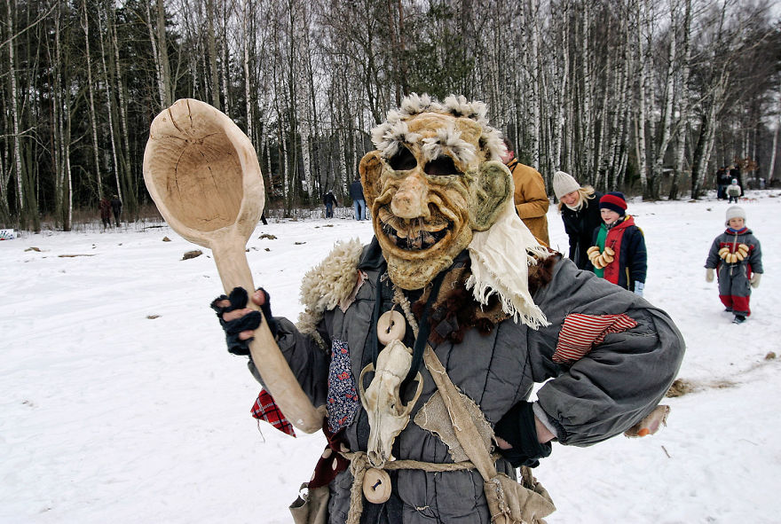 Uzgavenes Winter Festival (Lithuania)
