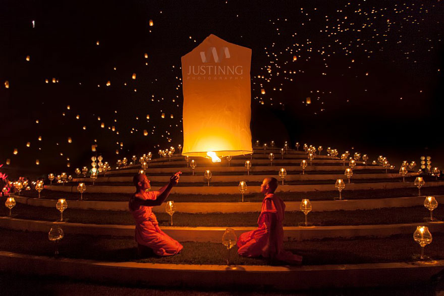Yi Peng Festival de la Linterna (Tailandia)