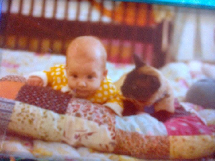 My Daughter And Stubby 30+ Years Ago…..